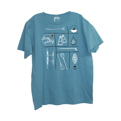 Original Watermen Seas The Day T-Shirt