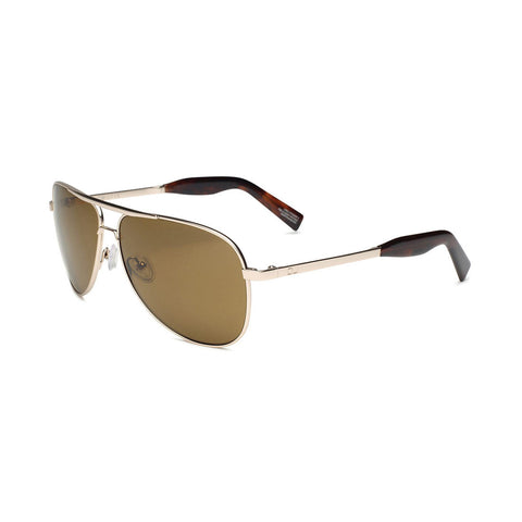 Otis Double Lucky Sunglasses (White Gold/Tropical Brown) 2