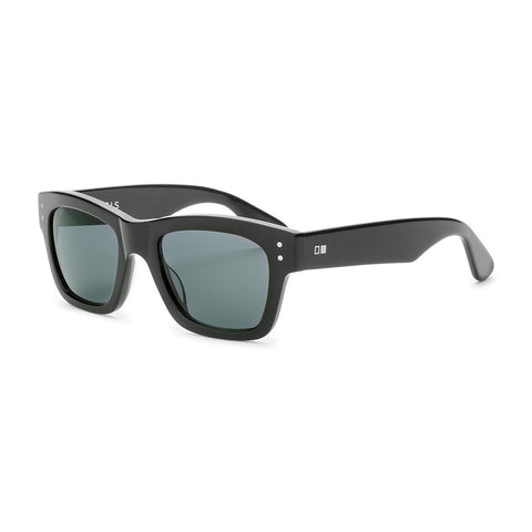 Otis Missing Pieces Sunglasses (Shiny Black/Grey Polarized