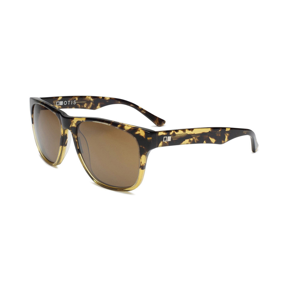 Otis Modern Theory Sunglasses (Amber Tort/Tropical Brown)