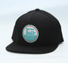 Original Watermen Seafarer Snapback Hat (Black)
