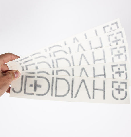 Jedidiah Die Cut Sticker Bundle