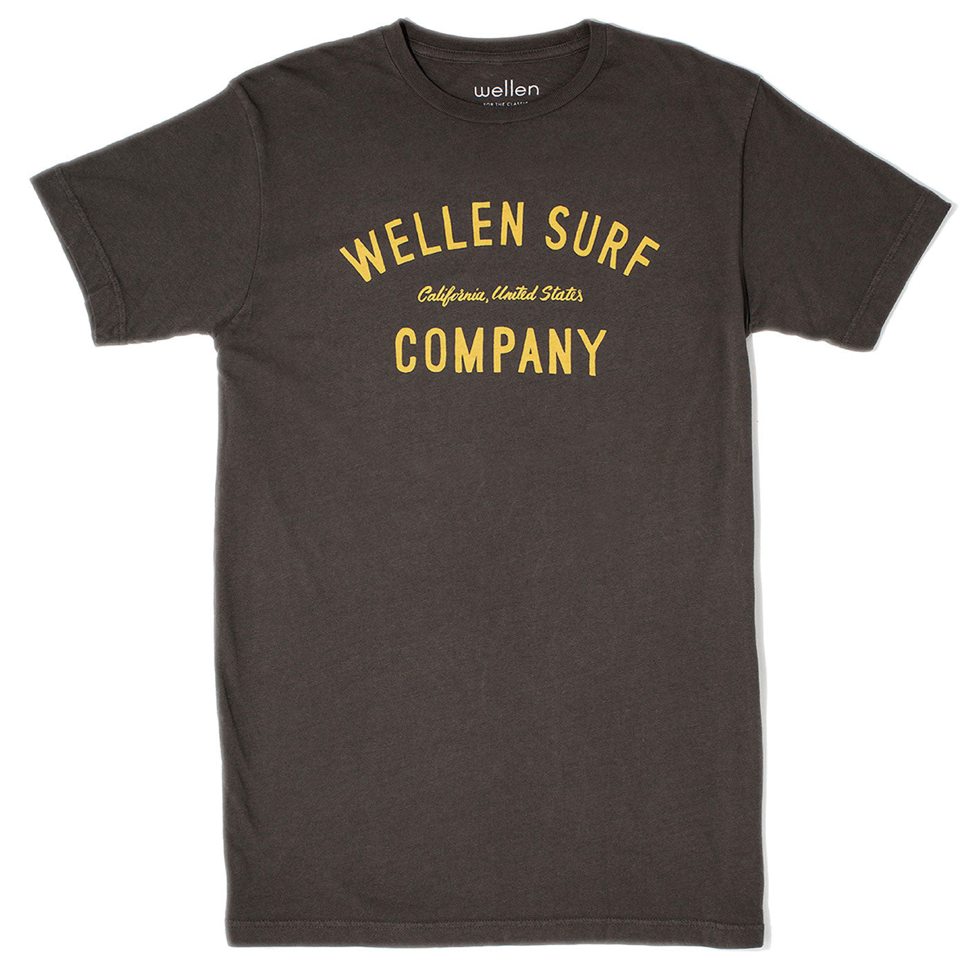 Wellen Surf Co T-Shirt (Charcoal)