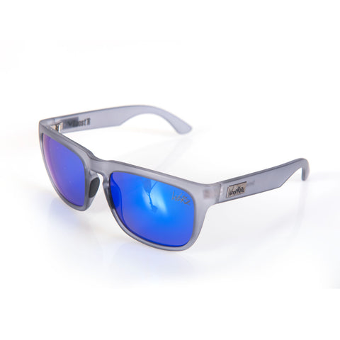 Woodroze Roost'r Softwood Polarized Sunglasses (Nebula Grey/Blue Lens)