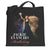 Jackie Evancho Black Galaxy Tote Bag