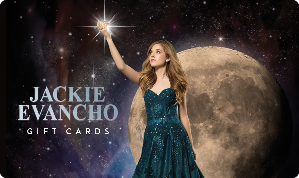 Jackie Evancho Gift Card