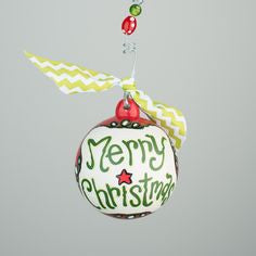 Glory Haus Merry Christmas Ceramic Ornament