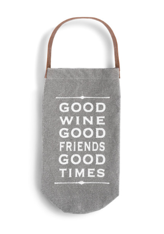 Good Wine - Wine Bottle Bag