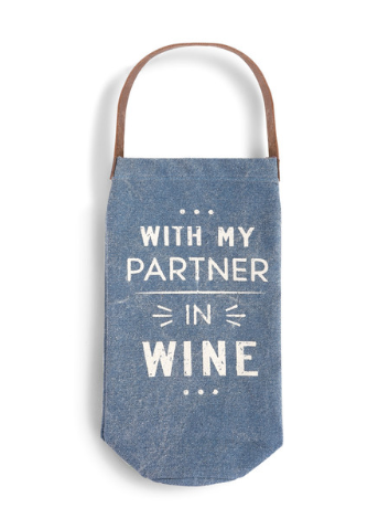 Partner in Wine - Wine Bottle Bag