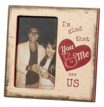 You & Me - Plaque Frame