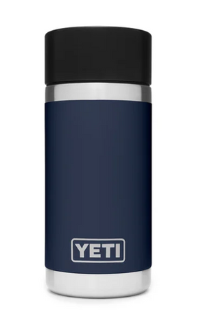 YETI® Navy Rambler 12 oz. Bottle with HotShot Cap
