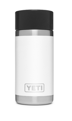YETI® White Rambler 12 oz. Bottle with HotShot Cap