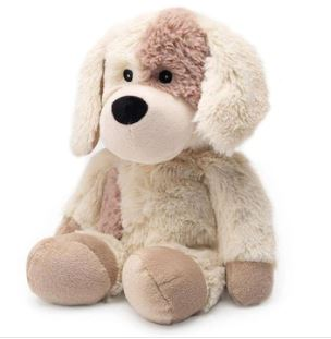 "13"" PUPPY - WARMIES JUNIOR Cozy Plush Heatable Lavender Scented Stuffed Animal"
