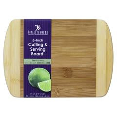8 Inch- Totally Bamboo Two Tone Bar Prep Cutting Board