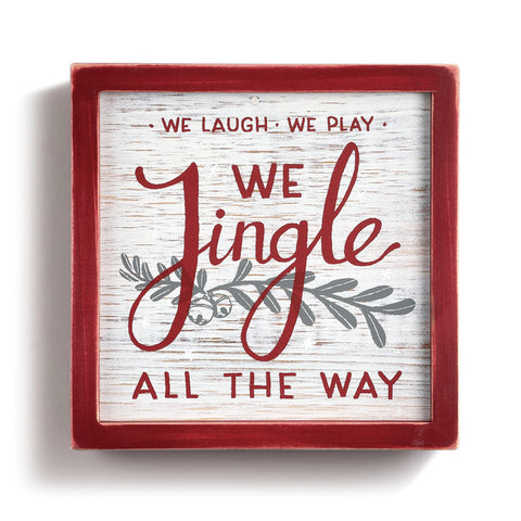 Jingle All the Way Wall Art