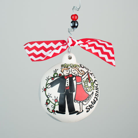 Glory Haus Our 1st Christmas Ceramic Ornament