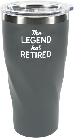 The LEDGEND has RETIRED! -24 Oz. Travel Mug with Lid