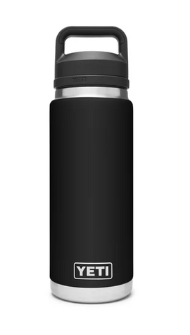 YETI® Black Rambler 26 oz Bottle with Chug Cap