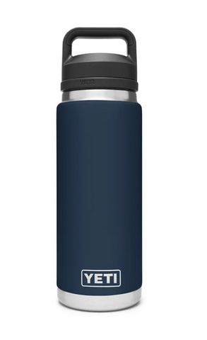 YETI® Navy Rambler 26 oz Bottle with Chug Cap