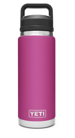 YETI® Prickly Pear Pink Rambler 26 oz Bottle with Chug Cap
