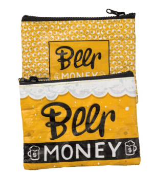 Beer Money - Zipper Wallet