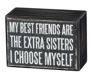 Extra Sisters - Box Sign