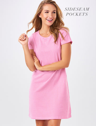 Cutie Pink Tee-shirt dress!