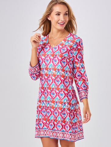 Charlie Paige Abstract Tunic Dress