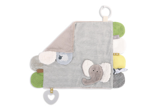 Mommy and Me Activity Blankie - Elephant