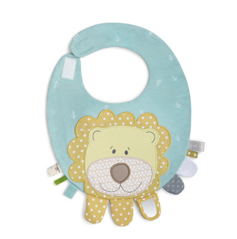 Mommy and Me Activity Bib - Lion