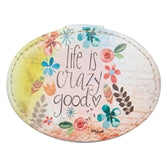 "Simple Imnsperiations Jewelry Box - ""Life is Crazy Good"""