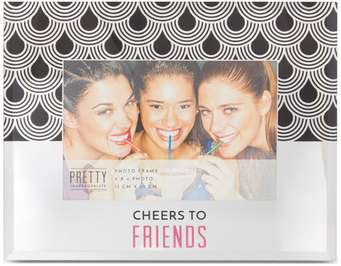Cheers to Friends- Mirror frame