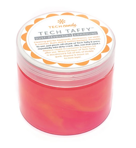 Tech Taffy Dust-Devouring Compound: Pink Ombre