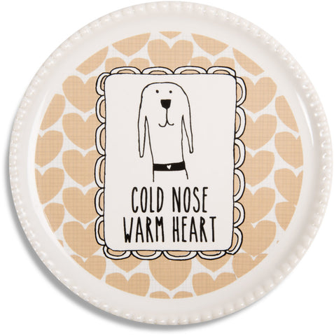"Warm Heart - 3.75"" Coaster"