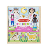 Best Friends Magnetic Dress-Up Magnetic Play Set