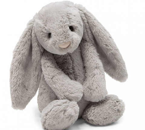 Bashful Grey Bunny Medium **Retired**