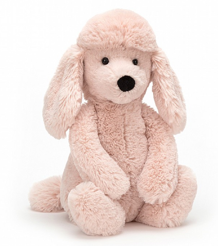 Bashful Blush Poodle Medium **Retired**