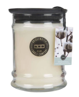 8OZ SMALL JAR WHITE COTTON