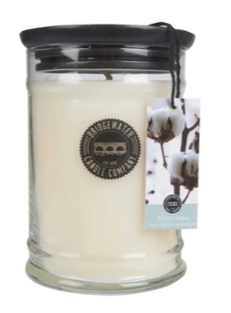 18OZ LARGE JAR WHITE COTTON