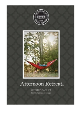 SCENTED SACHETS AFTERNOON RETREAT