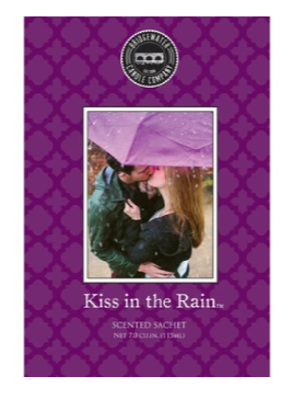 SCENTED SACHETS KISS IN THE RAIN