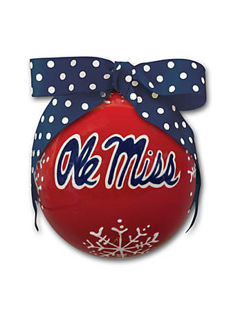 Magnolia Lane Ole Miss Ornament