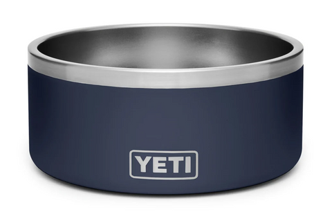 YETI® Navy Boomer 8 Dog Bowl
