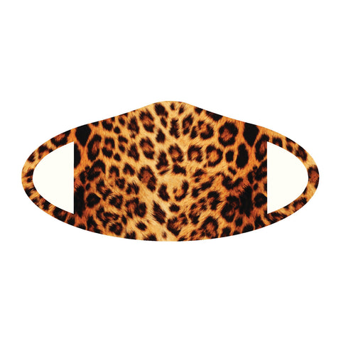 Face Mask Polyester & Spandex Blend - Cheetah