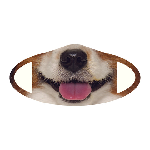 Face Mask Polyester & Spandex Blend - Dog