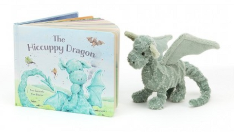 Hiccupy Dragon Book + Drake Dragon BUNDLE