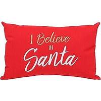 """I believe in Santa"" Pillow"