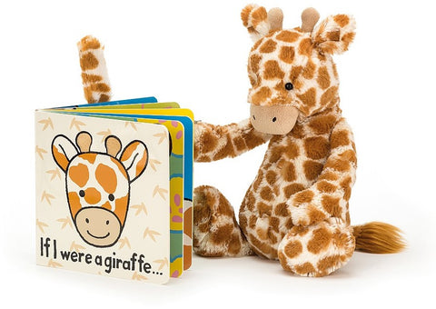 If I Were a Giraffe Book + Bashful Giraffe BUNDLE