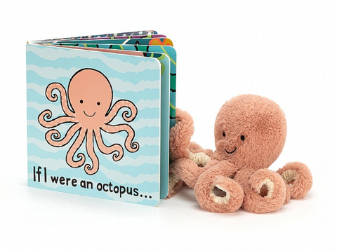 If I Were an Octopus Book + Odell Octopus BUNDLE