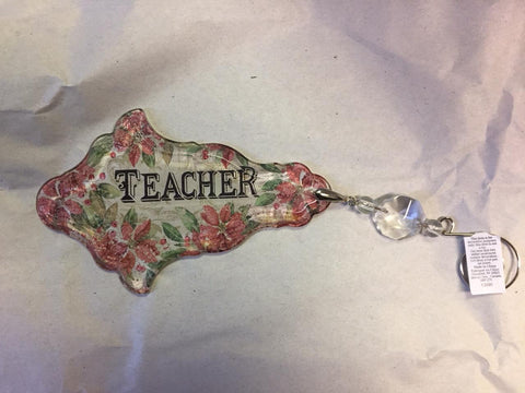 Teacher - Vintage Relationship Ornament